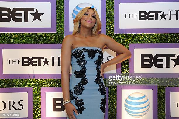 Tamar Braxton is seen at BET Honors 2014 Debra Lee PreDinner at the National Museum of Women in the Arts on February 7 2014 in Washington DC