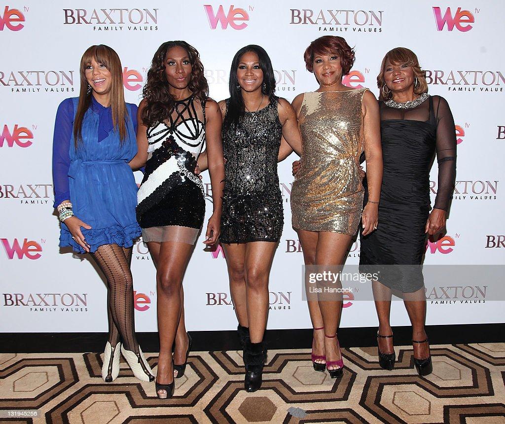 """Braxton Family Values"" Season 2 Premiere : News Photo"