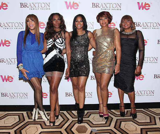 fotos und bilder von we tv series braxton family values reunion special taping getty images. Black Bedroom Furniture Sets. Home Design Ideas