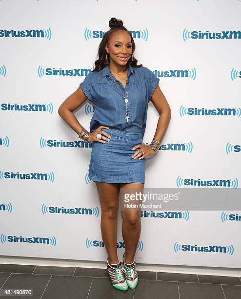 Tamar Braxton visits at SiriusXM Studios on July 21 2015 in New York City