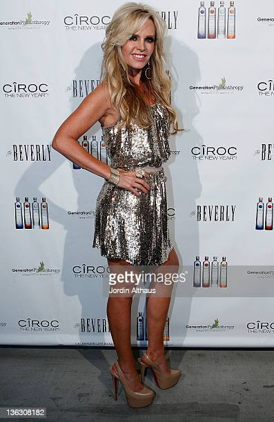 Tamara Barney attends the Alexis Bellino and Tamara Barney Host CIROC The New Year 2012at Beverly Club on January 1 2012 in Los Angeles California