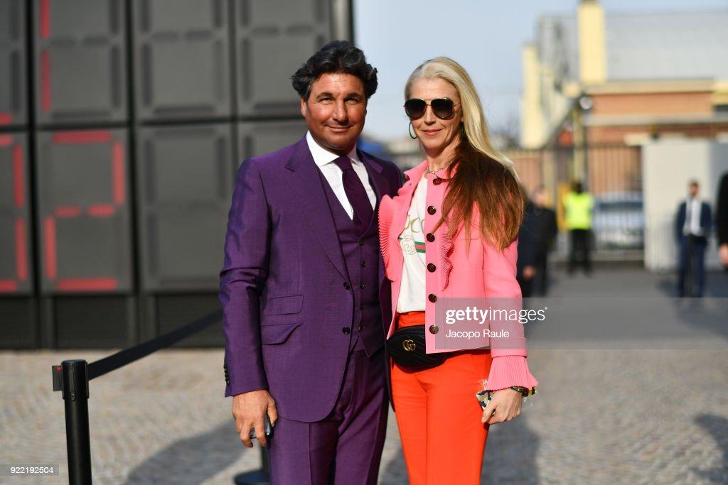 Gucci - Outside Arrivals - Milan Fashion Week Fall/Winter 2018/19 : News Photo