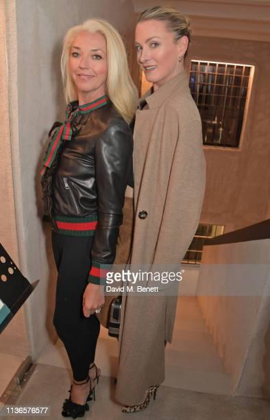 Tamara Beckwith and Lilly zu Sayn WittgensteinBerleburg attend Flavio Briatore's birthday dinner ahead of the ABB FIA Formula E GEOX Rome EPrix at...
