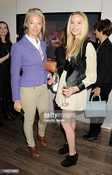 Tamara Beckwith and Noelle Reno attend a private lunch to celebrate the Erno Laszlo Hollywood Collection hosted by Harrods Fashion and Beauty...