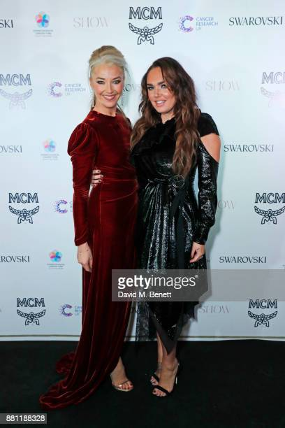 Tamara Beckwith and Tamara Ecclestone attend the Lady Garden Gala in aid of Silent No More Gynaecological Cancer Fund and Cancer Research UK at...