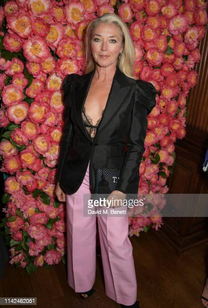 Tamara Beckwith attends a private dinner hosted by Michael Kors to celebrate the new Collection Bond St Flagship Townhouse opening on May 9 2019 in...