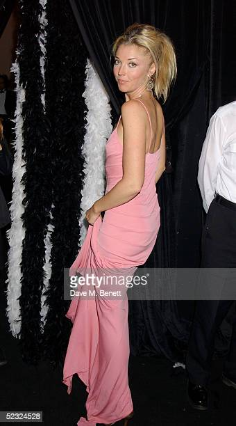 Tamara Beckwith attends Anouska Hempel's Fashion Show showcasing her new rara collection in conjunction with Van Cleef and Arpels at The Banqueting...