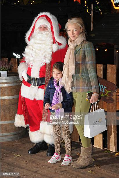 Tamara Beckwith attends the Winter Wonderland VIP opening at Hyde Park on November 20 2014 in London England