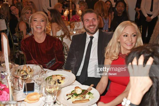 Tamara Beckwith Ben Cohen and Kristina Rihanoff attend the Lady Garden Gala in aid of Silent No More Gynaecological Cancer Fund and Cancer Research...