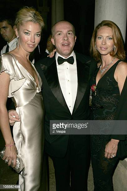 Tamara Beckwith, Cassian Elwes and Yvonne Scio at the amfAR's Cinema Against AIDS Venice, presented by BVLGARI