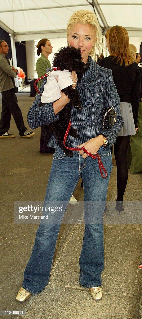2003 London Fashion Week - Pringle 2004 Spring Collection - Runway