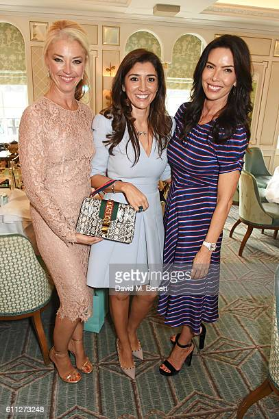 Tamara Beckwith Fabiana Flosi and Josphine Daniel attend the 3rd Annual Ladies' Lunch in support of the Silent No More Gynaecological Cancer Fund at...