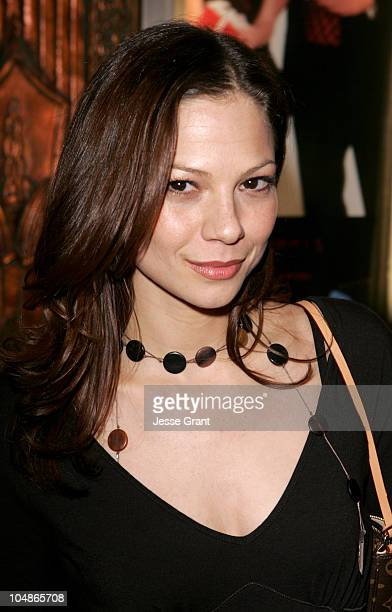 """Tamara Braun during Irving Berlin's """"White Christmas"""" Los Angeles Opening at Pantages Theatre in Los Angeles, California, United States."""