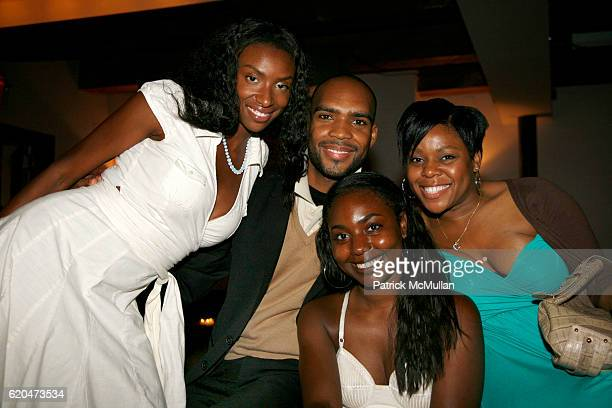 Tamara Dumay Antoine Phillips Marielle Bobo and Janelle Craig attend SEAN GARRETT 'Turbo 919' Album Release Party Hosted by INTERSCOPE RECORDS at...