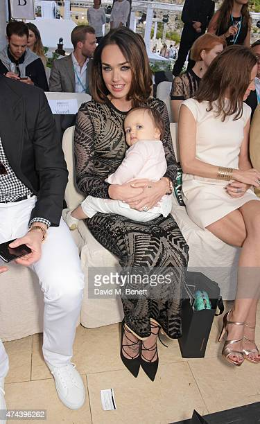 Tamara Ecclestone and daughter Sophia EccelstoneRutland attend the Amber Lounge 2015 Charity Fashion Show in benefit of Autism Rocks at Le Meridien...