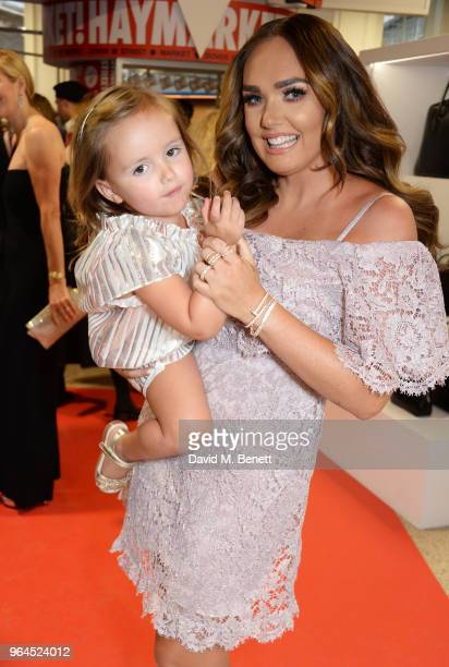 Tamara Ecclestone and daughter Sophia EccletoneRutland attend Hello Magazine's 30th anniversary party at Dover Street Market on May 9 2018 in London...