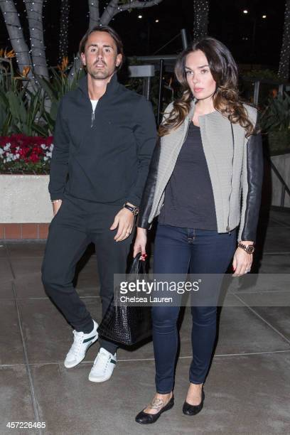 Tamara Ecclestone and husband Jay Rutland are seen on December 16 2013 in Los Angeles California