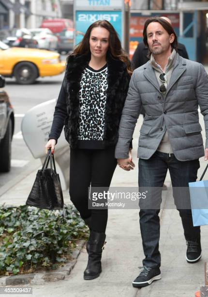 Tamara Ecclestone and husband Jay Rutland sighted on Madison Ave on December 4 2013 in the Queens borough of New York City