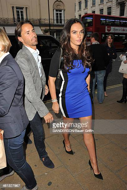 Tamara Ecclestone and Jay Rutland are seen on May 17 2013 in London United Kingdom