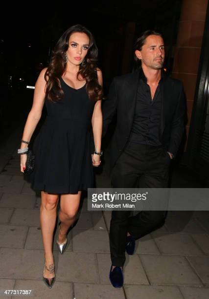Tamara Ecclestone and Jay Rutland at C London Restaurant on March 8 2014 in London England