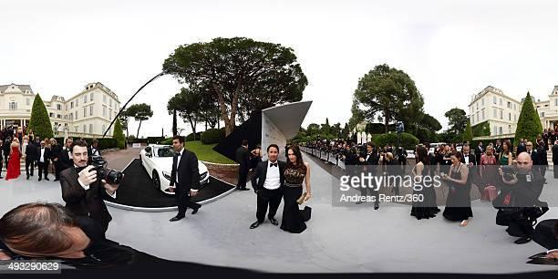Tamara Ecclestone and Jay Rutland attend amfAR's 21st Cinema Against AIDS Gala Presented By WORLDVIEW BOLD FILMS And BVLGARI at Hotel du CapEdenRoc...