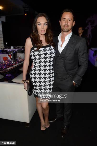 Tamara Ecclestone and Jay Rutland attend the Amber Lounge 2014 Gala at Le Meridien Beach Plaza Hotel on May 23 2014 in MonteCarlo Monaco