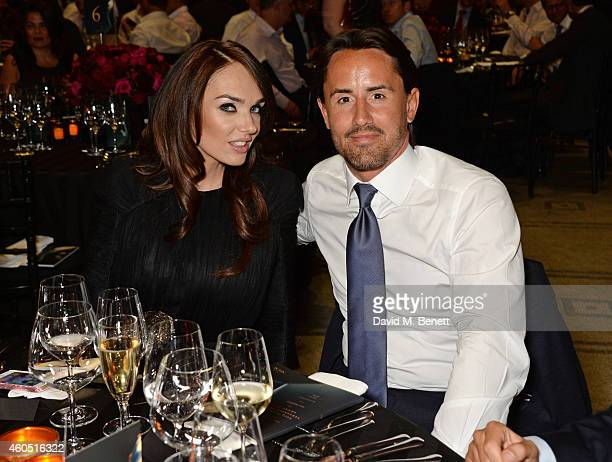Tamara Ecclestone and Jay Rutland attend The F1 Party in aid of the Great Ormond Street Children's Hospital at the Victoria and Albert Museum on July...