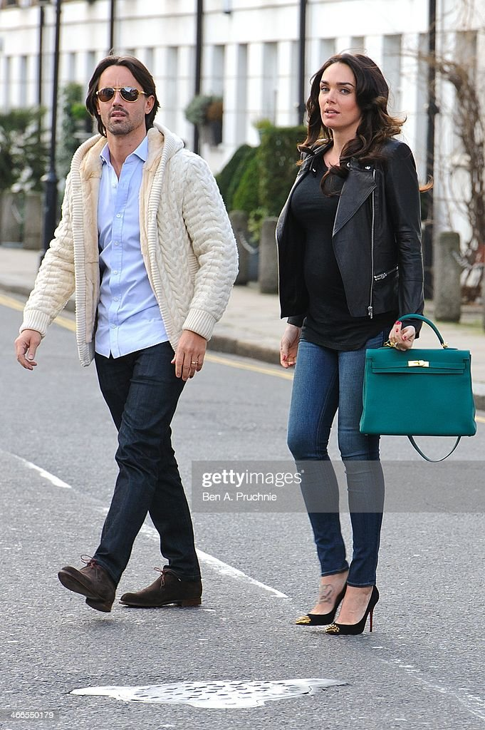 Tamara Ecclestone Sightings In London - February 2, 2014