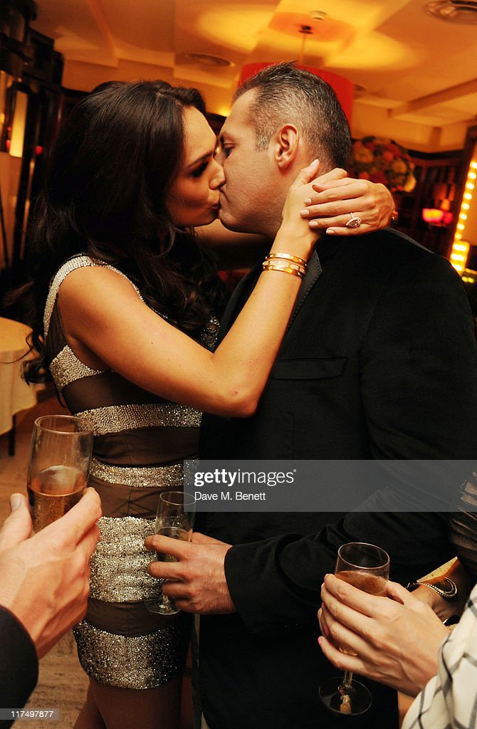 Tamara Ecclestone and Omar Kyhami celebrate her 27th birthday in the private room at Cipriani Restaurant on June 25, 2011 in London.
