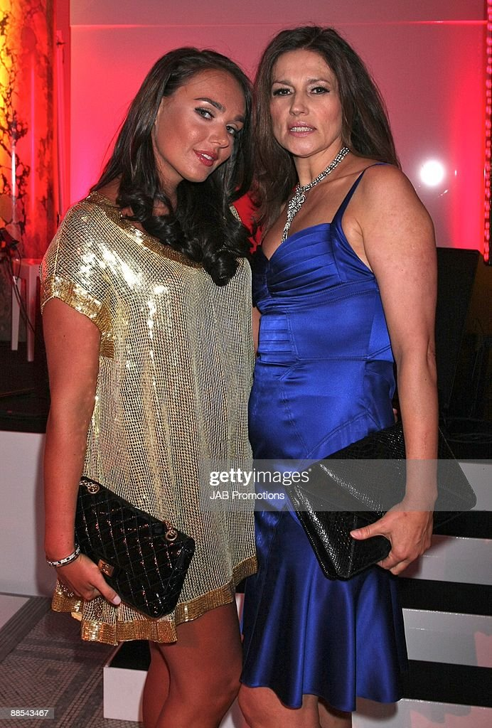 Tamara Ecclestone and Slavica Ecclestone attends the F1 Party In Aid Of Great Ormond Street at Victoria & Albert Museum on June 17, 2009 in London, England.