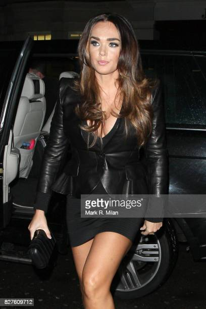 Tamara Ecclestone arrives at the C London Restaurant on January 29 2013 in London England