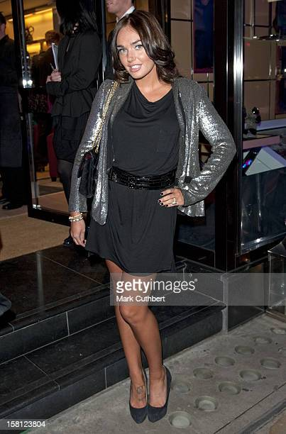 Tamara Ecclestone Arrives At The Italian Touch Launch Reception At Tod'S Boutique, Old Bond Street, London.