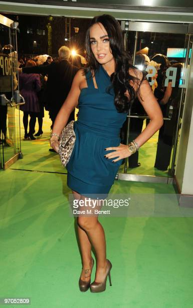 Tamara Ecclestone arrives at the Royal World Premiere of 'Alice In Wonderland' at the Odeon Leicester Square on February 25 2010 in London England