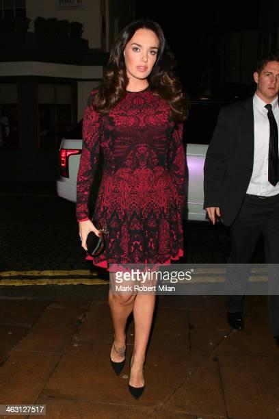 Tamara Ecclestone at 5 Hertford Street restaurant on January 16 2014 in London England