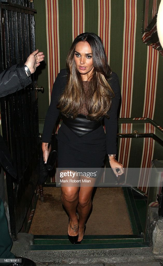 Tamara Ecclestone at Annabel's Private members club and restaurant on February 26, 2013 in London, England.