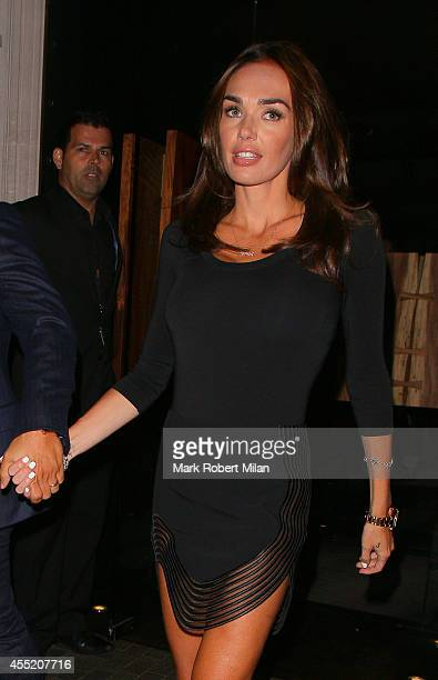 Tamara Ecclestone at Roka Mayfair restaurant on September 10 2014 in London England
