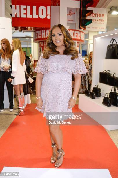 Tamara Ecclestone attends Hello Magazine's 30th anniversary party at Dover Street Market on May 9 2018 in London England