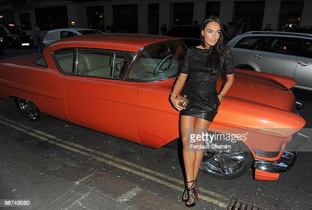 Tamara Ecclestone attends special fundraising performance of 'Sunset Boulevard' in aid of the Ndoro Children's Charity at The Mayfair Hotel on April...