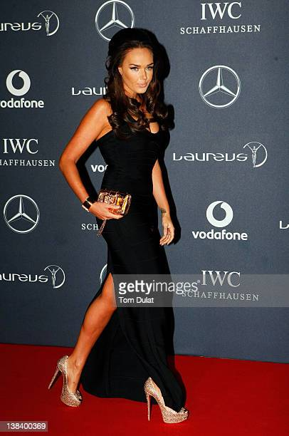 Tamara Ecclestone attends the 2012 Laureus World Sports Awards at Central Hall Westminster on February 6 2012 in London England