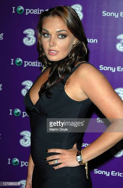 Tamara Ecclestone attends the 3 Sony Ericsson K770i phone phone launch at the Bloomsbury Ballroom October 24, 2007 in London, England.