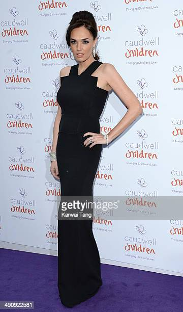 Tamara Ecclestone attends the Caudwell Children Butterfly Ball held at the Grosvenor House Hotel on May 15 2014 in London England