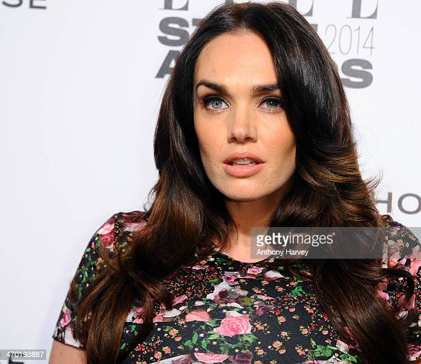 Tamara Ecclestone attends the Elle Style Awards 2014 at one Embankment on February 18 2014 in London England