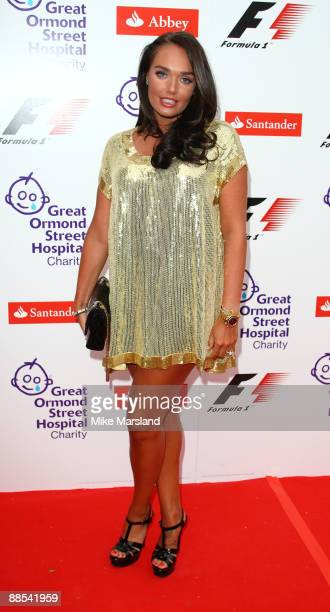 Tamara Ecclestone attends the F1 Party, in aid of Great Ormond Street at Victoria & Albert Museum on June 17, 2009 in London, England.