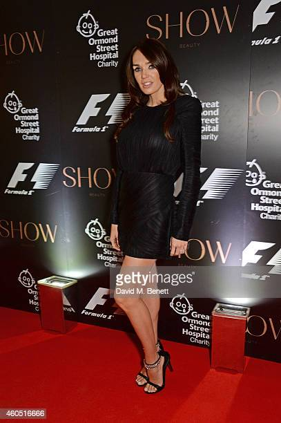 Tamara Ecclestone attends The F1 Party in aid of the Great Ormond Street Children's Hospital at the Victoria and Albert Museum on July 2, 2014 in...