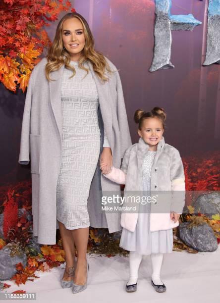 Tamara Ecclestone attends the Frozen 2 European premiere at BFI Southbank on November 17 2019 in London England