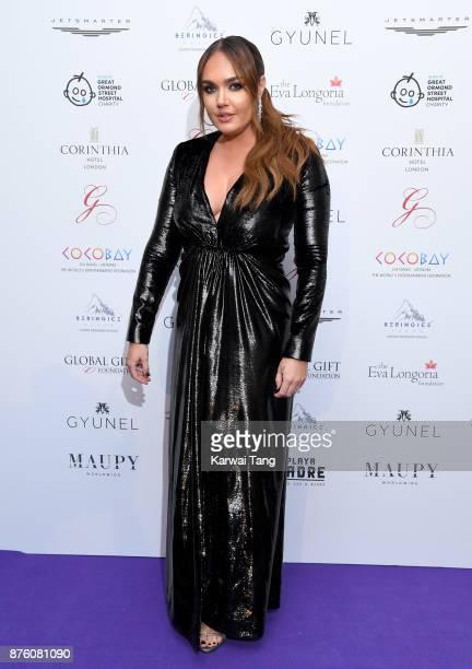 Tamara Ecclestone attends The Global Gift gala held at the Corinthia Hotel on November 18 2017 in London England