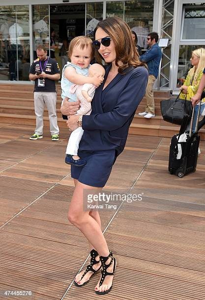 Tamara Ecclestone attends the Infiniti Red Bull Racing Energy Station at Monte Carlo on May 23 2015 in Monaco Monaco