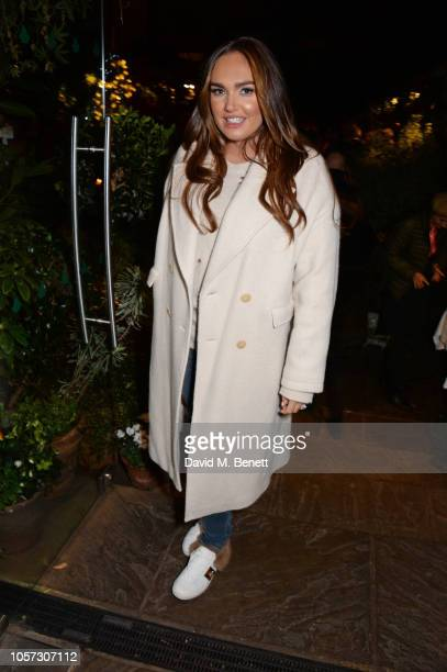 Tamara Ecclestone attends The Ivy Chelsea Garden's annual Guy Fawkes party on November 4 2018 in London England