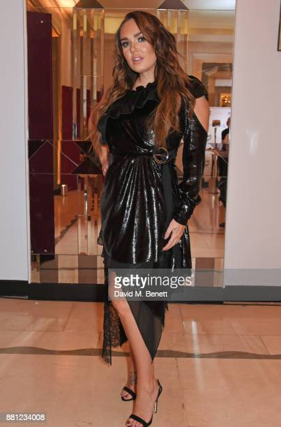 Tamara Ecclestone attends the Lady Garden Gala in aid of Silent No More Gynaecological Cancer Fund and Cancer Research UK at Claridge's Hotel on...