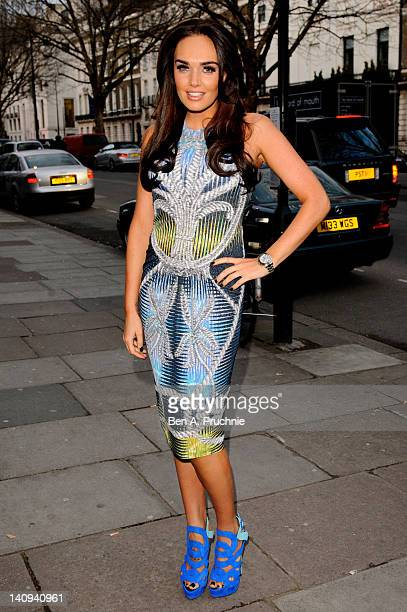 Tamara Ecclestone attends the launch of Elizabeth Ardens Eight Hour Cream at 29 Portland Place on March 8 2012 in London England